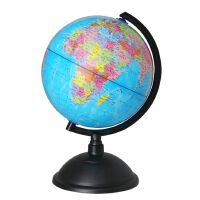 地球仪 20CM政区PVC教学地球仪 高清彩印中文教学地球仪 地理教材学生模型