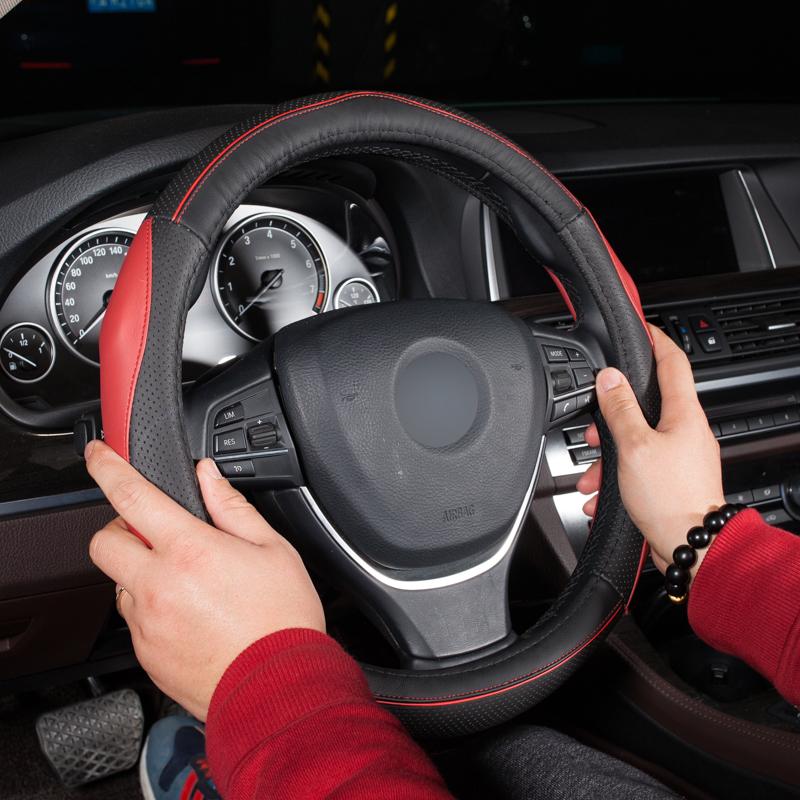 欧斯莱汽车四季方向盘套沃尔沃s40s80lxc60s60xc90v60v40 索纳塔.