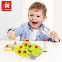 特宝儿 小果树夹夹乐 儿童益智玩具 亲子活动桌面游戏 锻炼精细动作 儿童节礼物