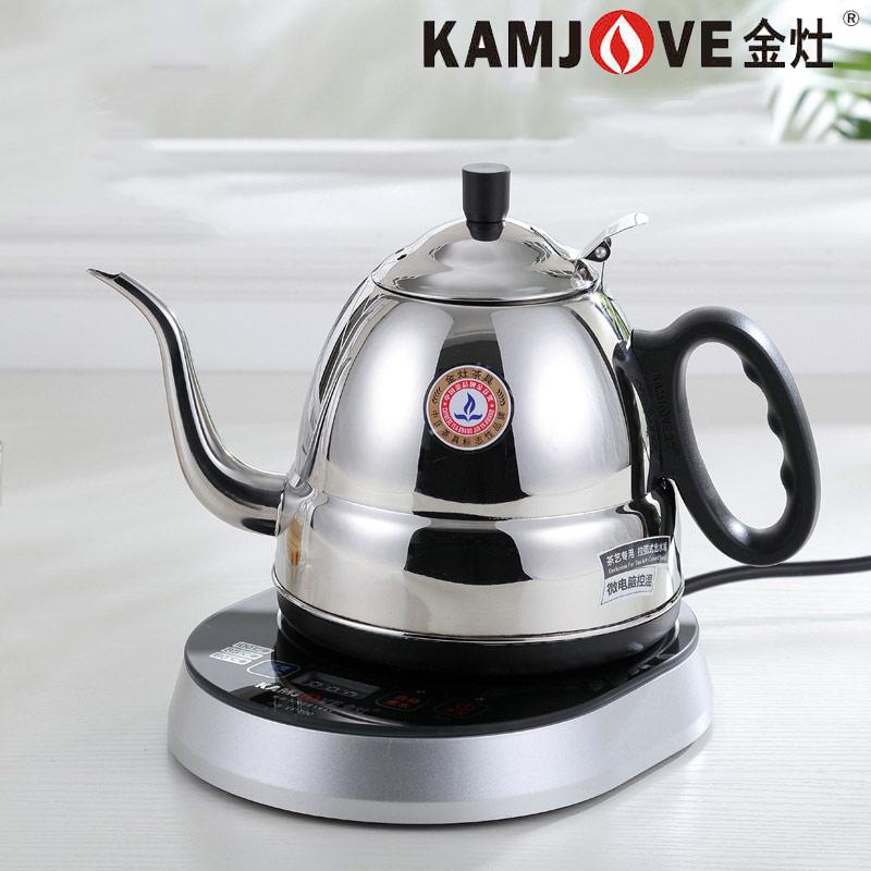 kamjove/金灶tp-700感应试智能保温电热水壶烧水煮电茶壶