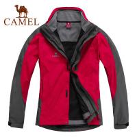 CAMEL骆驼 户外情侣冲锋衣 透气保暖 防风防水