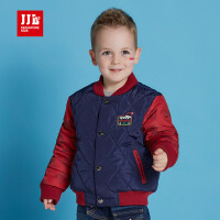 jjlkids季季乐童装儿童棉服男童冬季新款男小童时尚V领棉袄外套BDA63063