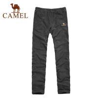 CAMEL骆驼 秋冬新款 户外防风保暖抓绒裤 男款 1F03035