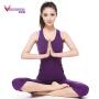 梵歌纳 新款 瑜伽服套装 运动服 工字运动背心 七分裤两件套 含胸垫