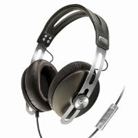 森海塞尔 MOMENTUM 大馒头奢华复古耳机 皮革耳垫 线控通讯 头戴式耳机