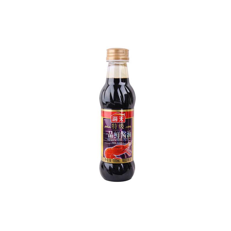 [当当自营] 海天 特级一品鲜酱油 500ml