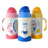 米菲3220真空保温杯保冷杯/吸管保温杯子儿童保温水杯保温水壶