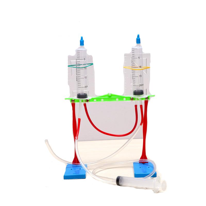儿童科技小发明材料小学生diy玩具幼儿园科学小制作实验器材喷泉