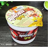 韩国农心炸酱碗面70g 杯装方便面 干拌面迷你小泡面 进口食品