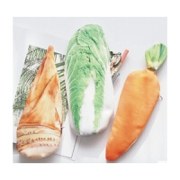 日照鑫包邮 韩国可爱创意铅笔袋 中学生个性大容量仿真笔盒 男女生卡通文具袋(一个装)