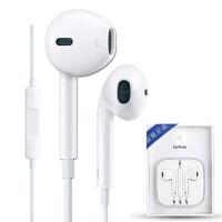 苹果(Apple) 苹果耳机 MD827FE/A 带线控和麦克风的 iPhone/iPad/iPod EarPods 低频流行人声塞 耳机