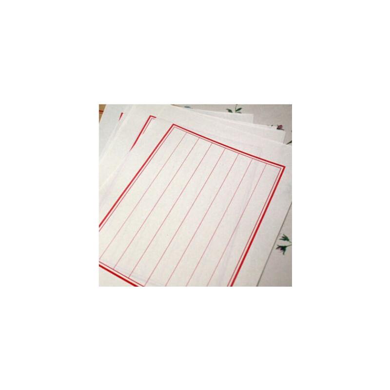 创意信封 古典信纸 花鸟中国风古式信封 古风传统信纸套装_米白竖八行