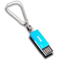 【全国大部分地区包邮】飚王(SSK)诱惑U盘(SFD042) 8G(蓝色)