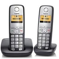集怡嘉(Gigaset)【西门子】 C510套装 德国进口数字双无绳电话机 (绅士黑)