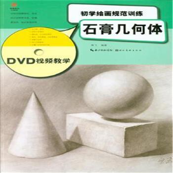 《石膏几何体-初学绘画规范训练-dvd视频教学》熊飞