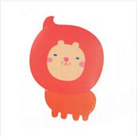 伊品堂 可爱卡通USB发热保暖鼠标垫 可爱卡通可粘式防滑鼠标垫 暖手宝 狮子
