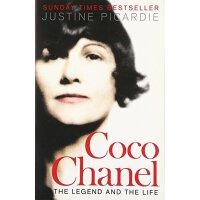 英文原版Coco Chanel: The Legend and the Life可可・香奈儿的传奇人生ISBN=9780007319046