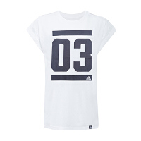 ADIDAS阿迪达斯 女子透气运动休闲短袖T恤 AI6112 现