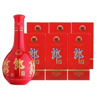 【酒界网】郎酒  53度 十年 红花郎 500ml * 6瓶