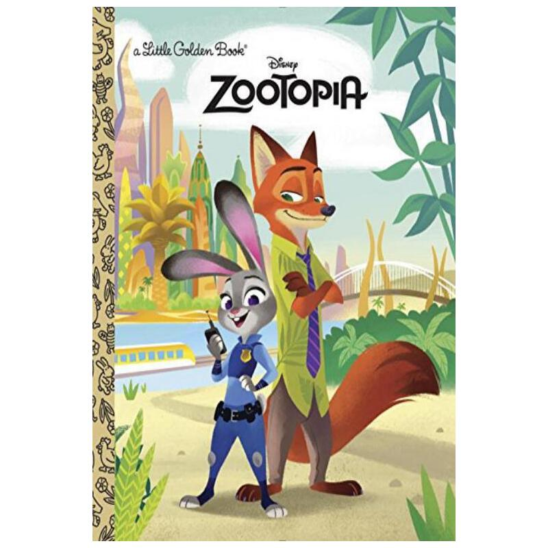 zootopia 疯狂动物城英文剧本学习笔记1
