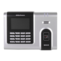 中控 MX618 射频卡刷卡考勤机 打卡机 ID卡考勤 网络通讯彩屏显示