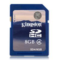 金士顿 8G SD SDHC 存储卡 class4  相机存储卡