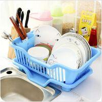 塑料碗碟沥水架厨房用品收纳架碗碟滴水架子沥水架