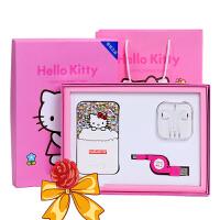 【清仓】充电宝礼盒 手机通用移动电源 卡通叮当猫kitty卡通充电宝