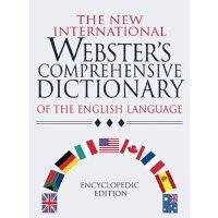 英文原版New International Webster's Comprehensive Dictionary of the English Language,韦氏新国际综合英语字典,精装