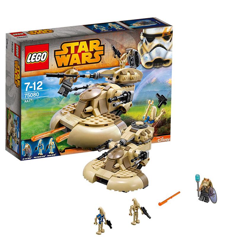 [当当自营]LEGO 乐高 星球大战系列 AAT战车 积木拼插儿童益智玩具 75080【当当自营】乐高3月份新品 适合7-12岁,251pcs 小颗粒积木