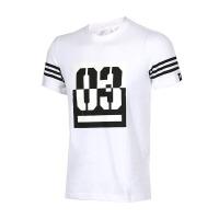 ADIDAS阿迪达斯  男子透气运动休闲短袖T恤 AP6380