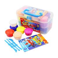 智高3D无毒不干橡皮泥工具套装儿童3D彩泥模具5031