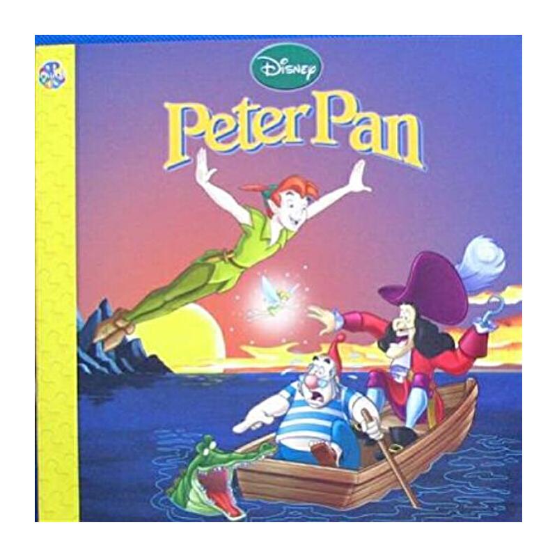 迪士尼:彼得潘英文原版storybook : disney peter panphidal