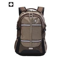 正品国际品牌swisswin瑞士军刀户外双肩包男多功能商务休闲旅行电脑包运动背包