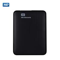 【限时抢】WD/西部数据 新元素 500G /1TB /2T 移动硬盘 1T 2.5寸 高速USB3.0