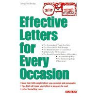 Barrons Effective Letters for Every Occasion 100 Sample Personal Letters to Inspire Your Own Correspondance Needs    ISBN:9780764112133