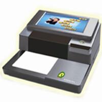 普霖Z-200/原Z-100升级 触摸屏支票打印机单机进账票据打印机