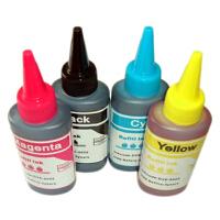 彩帝 佳能 适用于CL-41墨盒墨水 PG-40墨盒填充填充墨水    PG-830墨盒填充墨水  CL-831墨盒填充墨水 4色填充墨水