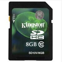 金士顿(Kingston)8G SD SDHC 存储卡 class10