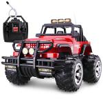 胜雄 1:8大型50cm遥控汽车 大型悍马遥控车越野车 充电遥控玩具 儿童遥控车车模型 *超有面子