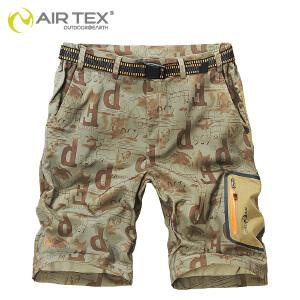 【AIRTEX亚特】夏季男士户外速干短裤 沙滩裤 运动短裤