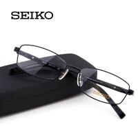 精工镜架 男士商务超轻镜框配近视眼镜框 全框眼镜架 H01117
