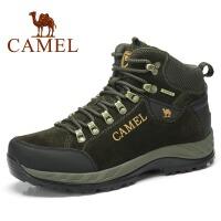 CAMEL骆驼  新款高帮户外鞋 徒步鞋反毛皮 男款登山徒步鞋