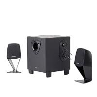Edifier/漫步者 R102V居家桌面音箱 2.1 木质多媒体电脑笔记本低音炮音响