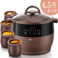 小熊(Bear)电炖锅 汤煮粥锅自动燕窝隔水电炖盅 DDZ-A25Z1