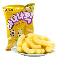 韩国进口 农心 香蕉牛奶味香蕉条 75g