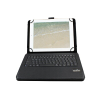 ikodoo爱酷多 三星 P6800 无线蓝牙键盘保护套 可拆卸型键盘 仿牛皮皮套 支架式