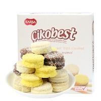 [当当自营] 土耳其进口 咔咔莎 KARSA 椰蓉黑白巧克力软饼干四条混合装 64g*4