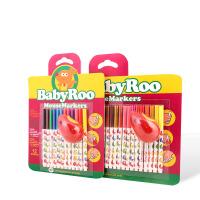 全店满百包邮!美乐 宝宝滑鼠涂鸦笔儿童水彩笔安全无毒1-3岁宝宝