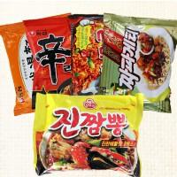 韩国进口方便面5种口味五连袋组合